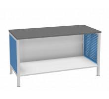 Верстак ДиКом ВЛ-К-150-03, стол слесарный бестумбовый
