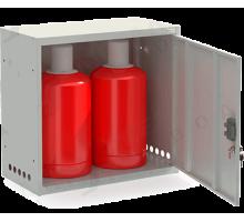 Шкаф для газовых баллонов ШГР 27-2-4(2x27л)