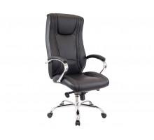 Кресло KING М натуральная кожа черная
