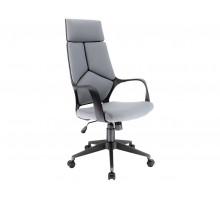 Кресло TRIO BLACK (ткань серая)