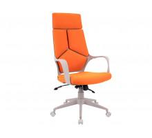 Кресло TRIO GREY (ткань оранжевая)