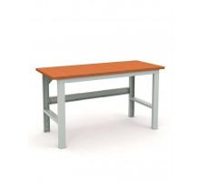 Стол верстак слесарный EXPERT (№203) W120.F2/F2.000, металлический, 1200 мм, Промет