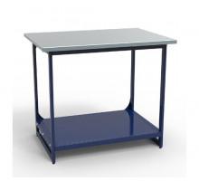 Стол верстак слесарный СВК-0Т.00.00.10, металлический без тумб, 1000 мм