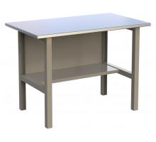 Стол верстак слесарный металлический, 1200 мм, серия MasterLine, Wellmet