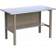 Стол верстак слесарный металлический, 1400 мм, серия MasterLine, Wellmet