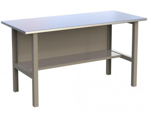 Стол верстак слесарный металлический, 1600 мм, серия MasterLine, Wellmet