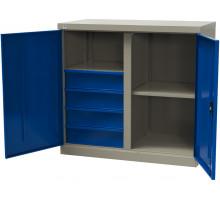 Шкаф инструментальный металлический, серия MasterLine, Wellmet MLST6-202040