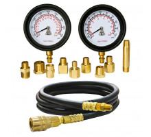 Манометр для измерения давления масла, два манометра, 0-7 и 0-28 бар МАСТАК 120-20028C