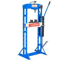 SD0822 гидравлический рамный пресс на 15 тонн с ножным приводом