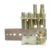 Набор пуансонов из 9 преметов, 10-30 мм, СТАНКОИМПОРТ, TB-025