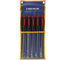 Набор напильников 200 мм, 5 предметов, KA-F1012-8, СТАНКОИМПОРТ