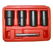 Набор головок для поврежденных гаек, 17-22 мм, 5 предметов