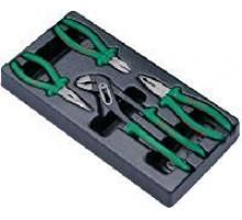 Набор губцевого инструмента Hans в ложементе, TT-12U